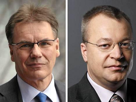 Olli-Pekka Kallasvuo ja Stephen Elop