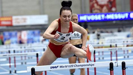 Reetta Hurske hylättiin 60 metrin naisten finaalista.