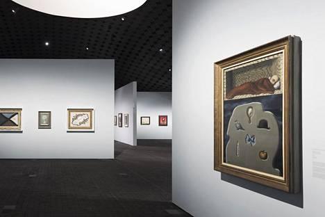 Magritten ensimmäinen näyttely Suomessa Amos Rex -museossa kiinnosti suomalaisia laajalti viime vuonna.