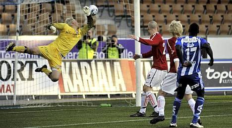HJK päihitti kärkikamppailussa Interin.