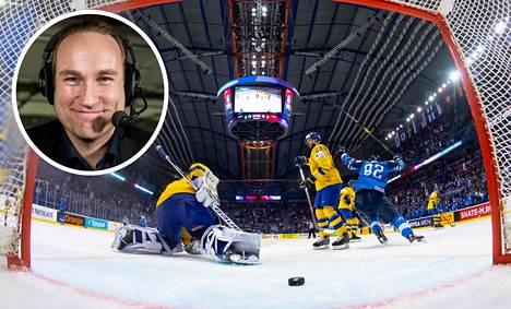 Ruotsin tv:n tähtiselostaja Chris Härenstam rakastui Slovakiassa kiekkoleijoniin ja on innokas pesismies.