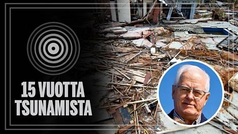 Tsunamin tuhovoima oli valtava. 15 vuotta katastrofin jälkeen päällimmäisenä Heikki Kääriäisen mielessä ovat kiitollisuus ja nöyryys.