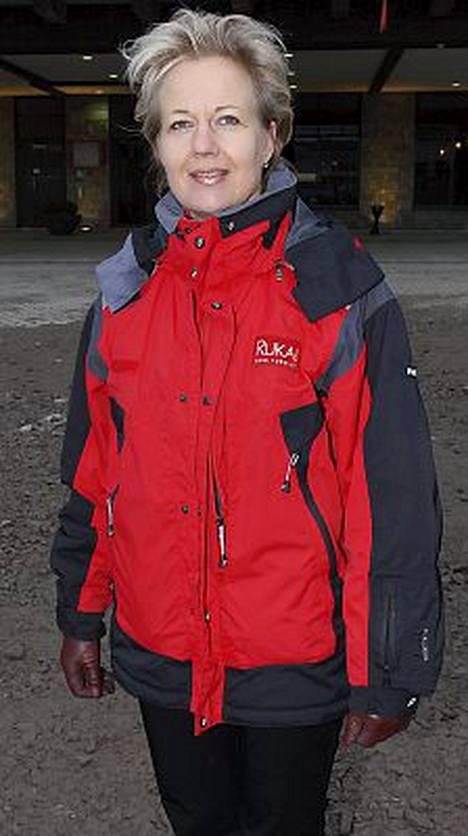 Suvi Lindén oli mukana Rukatunturilla.