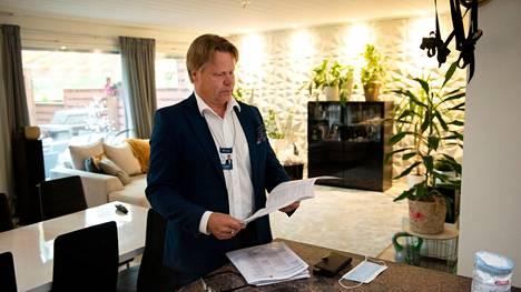 Järvenpäässä perheasunnoista olisi enemmän kysyntää kuin on tarjontaa, kertoo Sp-kodin kiinteistönvälittäjä Janne Suuronen.
