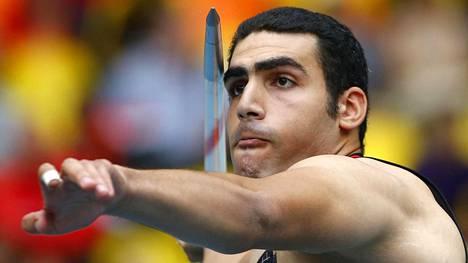 Ihab Abdelrahman antoi huhtikuussa 2016 positiivisen dopingnäytteen.