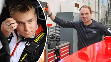 Esapekka Lappi (vas.) kertoi näkemyksensä entisen tallitoverinsa Jari-Matti Latvalan pomon pestistä Toyotalla.