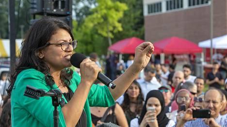 Rashida Tlaibista tulee ensimmäinen nainen Yhdysvaltain kongressissa.