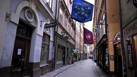 Törkeästä parituksesta epäillyn poliisin ja hänen puolisonsa hierontayritys sijaitsee Tukholman keskustassa. Kuvituskuva.