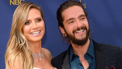 Heidi Klum ja Tom Kaulitz kihlautuivat jouluaattona.