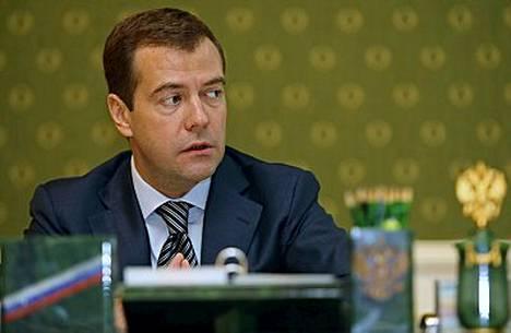 Dmitri Medvedevin uusi työpaikka sijaitsee rakennuksessa 14, vain lyhyen kävelymatkan päässä presidentti Vladimir Putinin virkahuoneesta.