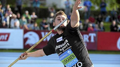 Antti Ruuskanen heitti 82,60.