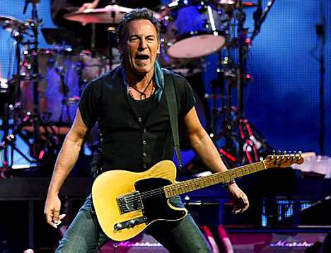 Bruce Springsteen tulee kesäkuussa Tampereelle.