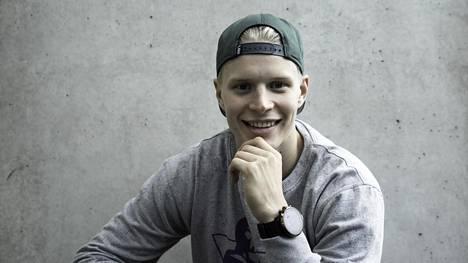 Antti Suomela arkistokuvassa.