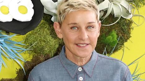Ellen Degeneres tunnetaan talk show -juontajana.