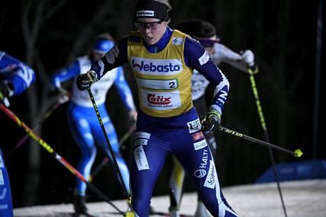 Alakoski edusti Suomea alle 23-vuotiaiden MM-kisoissa tänä talvena.