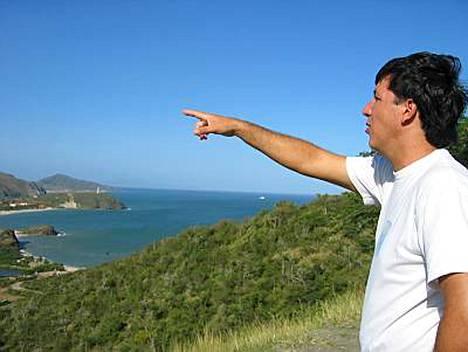 Suurin aarteemme on luonto, venezuelalainen Miguel Canepa sanoo.