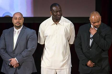 Raymond Santana, Yusef Salaam, ja Kevin Richardson vuonna 2014.