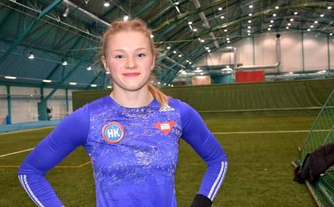 Wilma Murto tavoittelee kesällä paikkaa olympiafinaalissa.