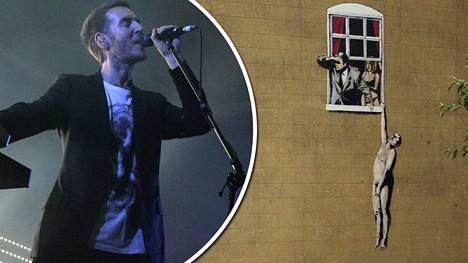 Onko Massive Attack yhtyeen nokkamies Robert Del Naja maailmankuulu katutaiteilija?