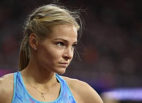 Darja Klishina oli toinen.