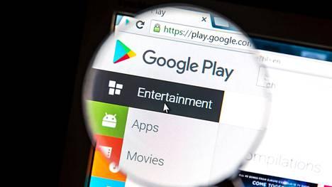 13 pelistä Google Playssa löytyi haittaohjelma.