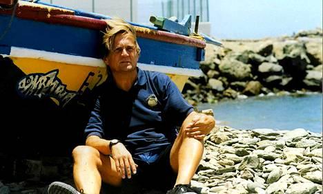 Jamppa Tuominen Kanarialla kesällä 1998.