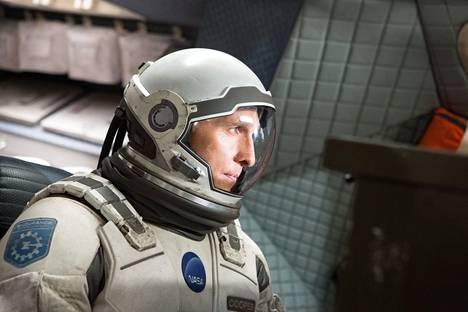 Avaruusseikkailu Interstellar (2014) on McConaugheyn viimeisimpiä tähtirooleja.