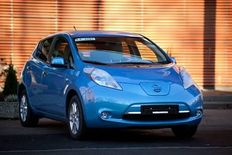 Nissan Leaf sisältää keinotekoiset äänet.