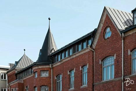 Rakennus on arkkitehti K.A. Wreden Lähetysseuran käyttöön suunnittelema. Nykyään se on asuinrakennus.