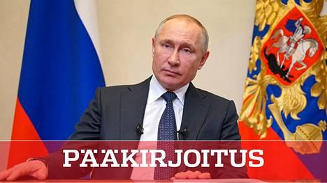 Venäjän presidentti Vladimir Putin piti keskiviikkona tv-puheen, joka jätti enemmän kysymyksiä kuin tarjosi vastauksia.