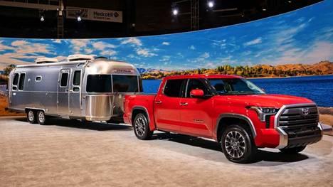 Uusi Toyota Tundra valmistetaan Yhdysvalloissa.