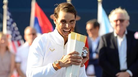 Rafael Nadal vei voiton Toronton Masters-turnauksessa