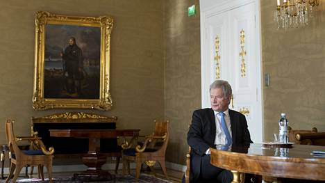 –Viestin Suomesta pitää olla hyvin realistinen, presidentti Niinistö sanoo.