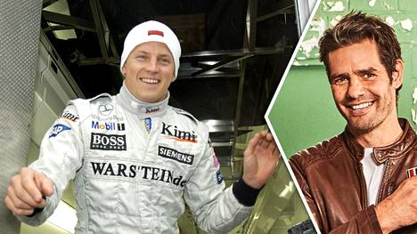 Marc Priestley (oik.) työskenteli monta vuotta Kimi Räikkösen kanssa.