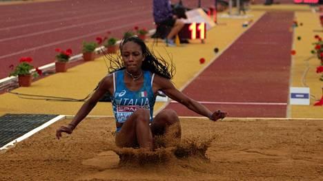Larissa Iapichino sijoittui viime vuonna seitsemänneksi alle 18-vuotiaiden EM-kisoissa. Tänä vuonna hän jahtaa kultaa alle 20-vuotiaiden kisoissa Ruotsissa.