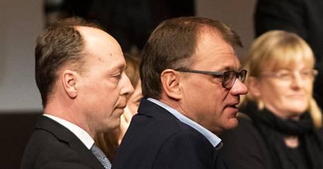 Puoluejohtajat kohtasivat viime maanantaina vaalitentissä Oulussa.