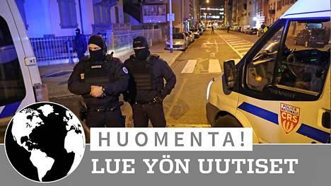 Strasbourgin joulutoriampuja kuoli poliisin luoteihin torstai-iltana.
