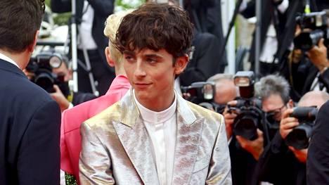 Timothée Chalamet häikäisi Cannesin punaisella matolla.