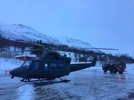 Etsintäpartio pyrkii lentämään tunturille helikopterilla vielä sunnuntain aikana, jos sääolosuhteet sallivat.