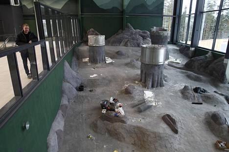 Pandataloa esiteltiin medialle joulukuun alussa. Tuolloin tilojen viimeistely oli vielä meneillään.