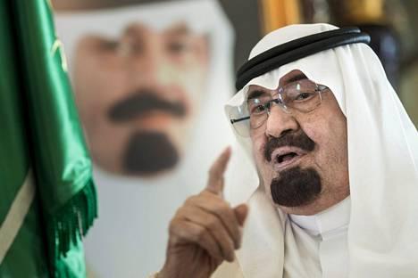 Saudi-Arabian edesmennyt kuningas Abdullah kiisti vuonna 2002 jyrkästi kuningaskunnan roolin WTC-iskuissa.