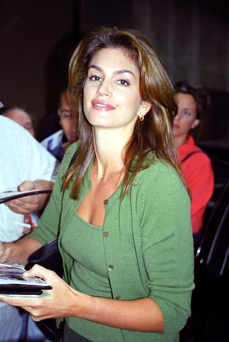 Cindy Crawford kuvattuna vuonna 1997.