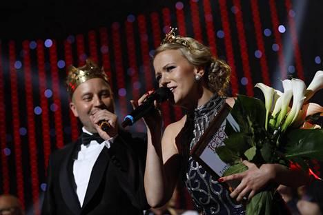 Tangokuningas Jarno Kokko sai tänään rinnalleen tangokuningattaren.