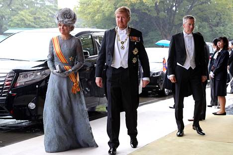Hollannin kuningas Willem-Alexander ja kuningatar Maxima.