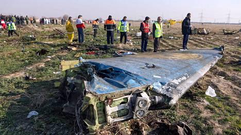 Iran ampui viime viikolla vahingossa alas ukrainalaisen matkustajakoneen lähellä Teherania.