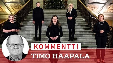 Pääministeri Sanna Marin (sd) joutuu ensi viikolla kovan paikan eteen: Pystyykö hän sovittamaan kehys- ja puoliväliriihessä hallituspuolueiden erilaiset tavoitteet ja jatkamaan toimintakykyisen hallituksen johdossa?