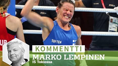 Mira Potkonen marssii kohti olympiakultaa vertaansa vailla olevan voitontahtonsa turvin.