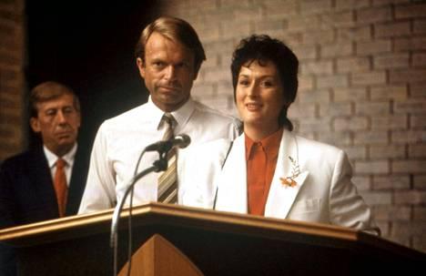 Huuto pimeydessä -draamassa Sam Neillin rinnalla näytteli Meryl Streep.