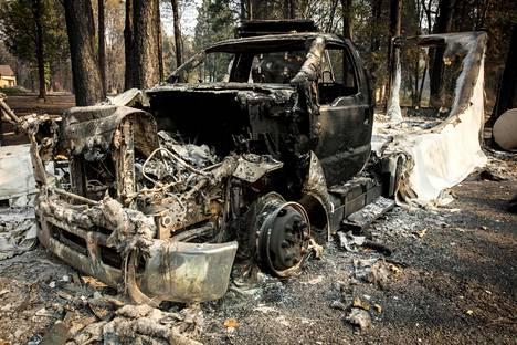 Camp Fire on aiheuttanut tuhoa Pohjois-Kaliforniassa.