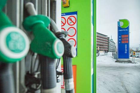 Huoltoasema kuuluu Neste K -ketjuun. Kuvan tankkausasema ei liity tapaukseen.
